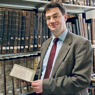 Portrait Lehnardt, Univ.-Prof. Dr. Andreas