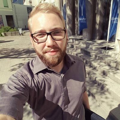 Portrait Jünger, Daniel